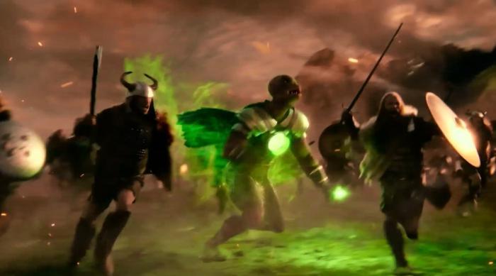 Imagen del Green Lantern Yalan Gur en Liga de la Justicia (2017)