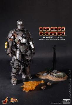 Figura coleccionable Mark I (2.0) de la Iron Man hecha por Hot Toys