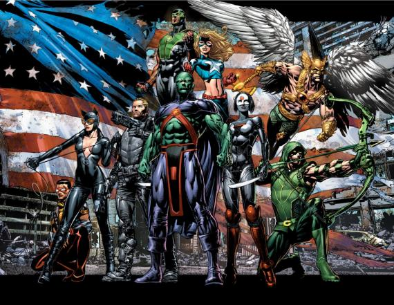 The New 52: Justice League of America