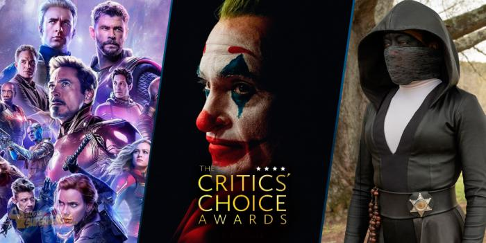 Joker, Vengadores: Endgame y Watchmen en los Critics' Choice Awards