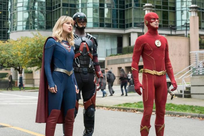 Imagen de Legends of Tomorrow 5x01: Crisis on Infinite Earths: Part Five