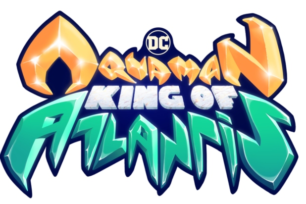 Logo de la miniserie animada Aquaman: King of Atlantis