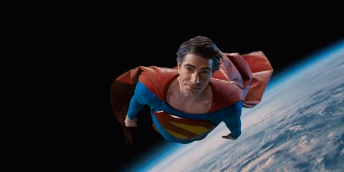 Imagen de Brandon Routh como Superman en Legends of Tomorrow 5x01: Crisis on Infinite Earths: Part Five