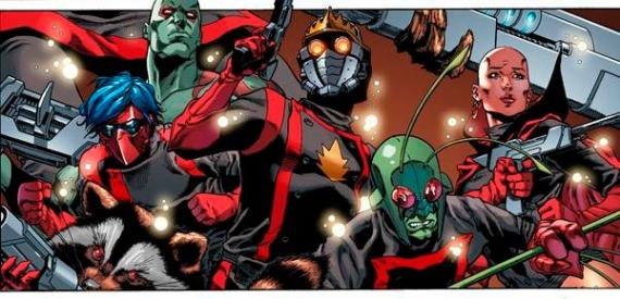 Imagen de los cómics de Guardians of the Galaxy