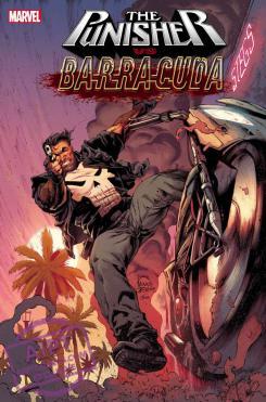 Imagen portada de Punisher Vs. Barracuda #1 (abril 2020)
