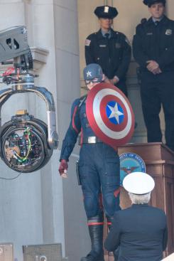 Imagen de rodaje de The Falcon and the Winter Soldier (2020)