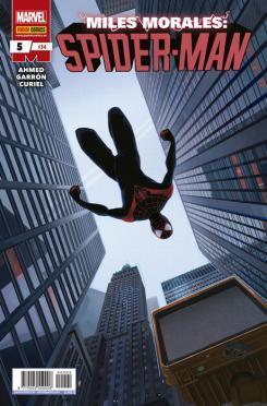 Portada de Miles Morales: Spider-Man, núm. 5