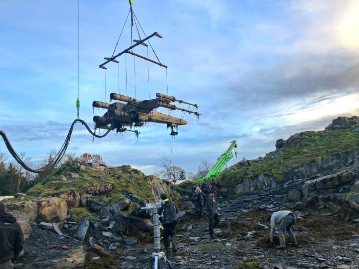 Imagen del set de Star Wars: El ascenso de Skywalker (2019)