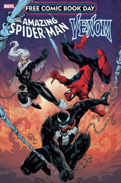 Portada de Free Comic Book Day 2020: Spider-Man/Venom