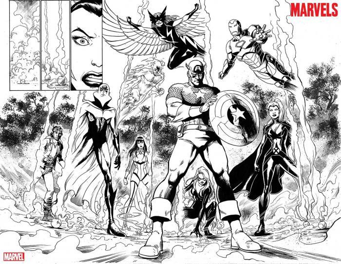 Lápices de The Marvels #1 (mayo 2020)