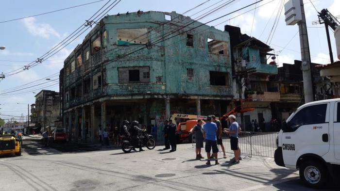 Imagen del rodaje de The Suicide Squad (2021) en Panamá