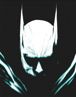 Arte de portada de Batman: The Smile Killer (mayo 2020), por Andrea Sorrentino