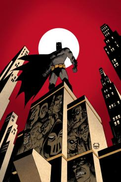 Imagen portada del cómic Batman: The Adventures Continue #1, por Dave Johnson