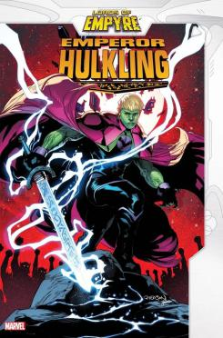 Imagen del one-shot Lords of Empyre: Emperor Hulkling (abril 2020)