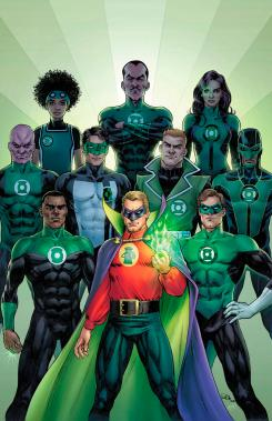 Portada alternativas del cómic Green Lantern 80th Anniversary 100-Page Super Spectacular (mayo 2020)
