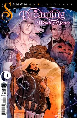 Imagen portada del cómic The Dreaming: Waking Hour #1 (mayo 2020)