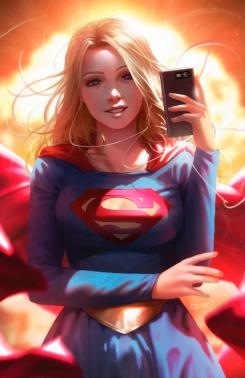 Portada alternativa del cómic Supergirl #42 (mayo 2020), por Derrick Chew