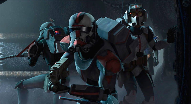 Imagen de Star Wars: The Clone Wars 7x01: The Bad Batch