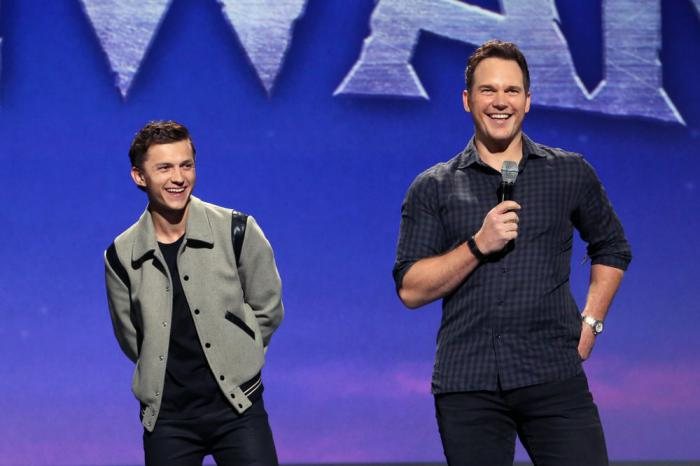 Imagen de Tom Holland y Chris Pratt