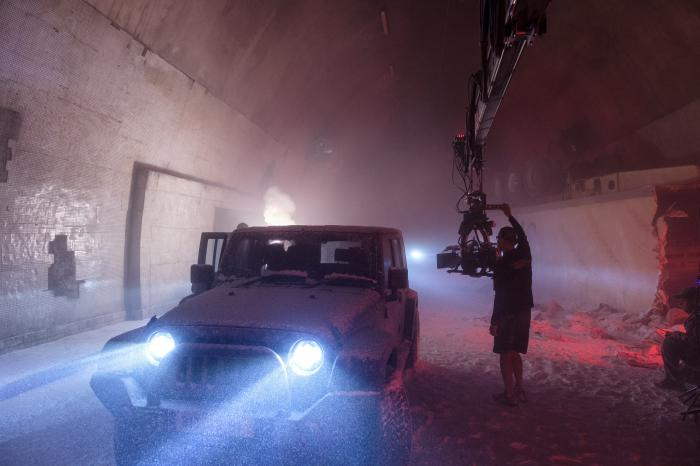 Imagen oficial del set de Bloodshot (2020)