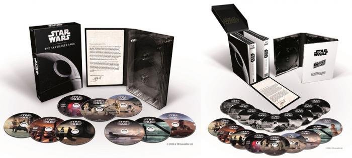 Pack 9 películas de Star Wars: Arco Skywalker
