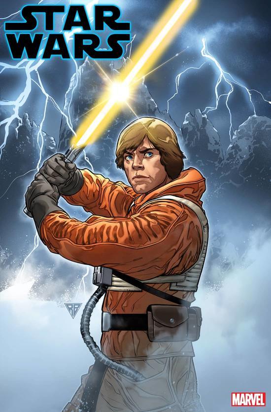 Imagen portada de Star Wars #6 (mayo 2020), por R.B. Silva