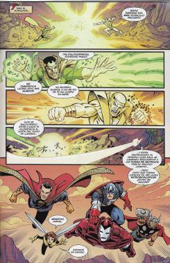 Los Vengadores, núm. 15. Página de muestra.