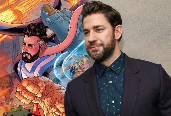 Montaje de John Krasinski y Reed Richards