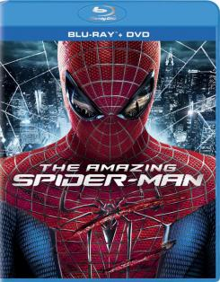 Carátula para Estados Unidos de la edición 3 discos: Blu-ray / DVD + UltraViolet Digital Copy de The Amazing Spider-Man