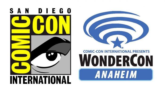 Logo de la San Diego Comic Con y la WonderCon Anaheim