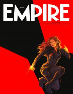 Portada de la revista Empire dedicada a Black Widow (2020)
