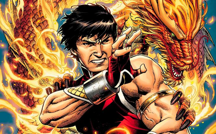 Cut out cover image of the comic Shang-Chi # 1 (June 2020), by Jim Cheung