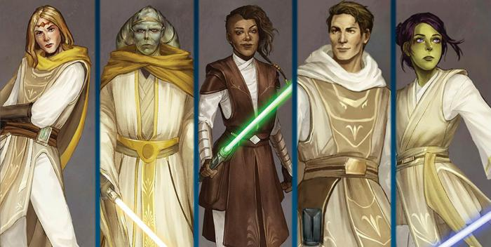 Nuevos Jedi para Star Wars: The High Republic: Into the Dark