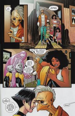 Nuevos mutantes, núm. 2. Página de muestra.