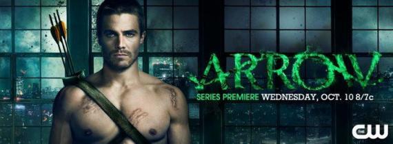 Imagen promocional de la primera temporada de Arrow