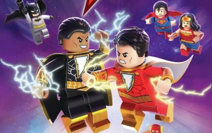 Recorte de carátula de LEGO DC: Shazam - Magic & Monsters