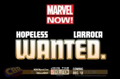 Teaser de Marvel Now!, Wanted