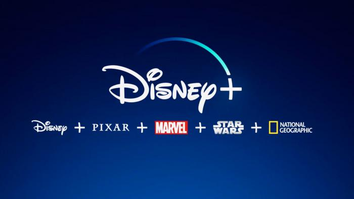 Logo de Disney+, plataforma de streaming de Disney