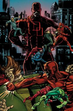 Interior del cómic Marvel Now! Daredevil: End of Days #1