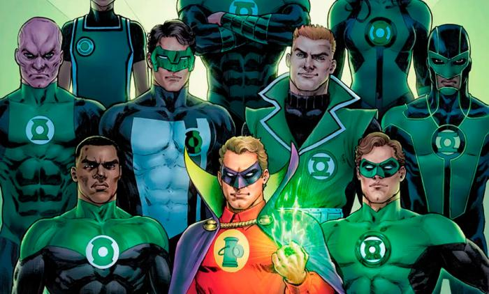 Recorte de portada alternativa del cómic Green Lantern 80th Anniversary 100-Page Super Spectacular (mayo 2020)