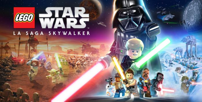 Key art de LEGO Star Wars: La Saga Skywalker