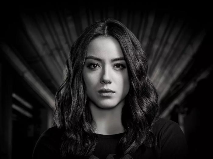 Imagen promocional de Daisy Johnson en la temporada 7 de Agents of SHIELD