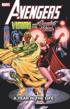 Imagen del cómic recopilatorio Avengers: Vision & the Scarlet Witch – A Year in the Life (diciembre 2020)
