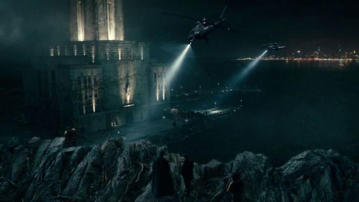 Gotham Harbor-Justice League- Zack Snyder