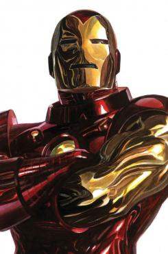 Portada alternativa del cómic Timeless dedicada a Iron Man, por Alex Ross