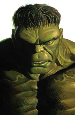 Portada alternativa del cómic Timeless dedicada a Hulk, por Alex Ross