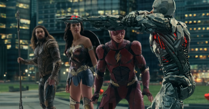 Justice League- Cyborg- Heroes- Park