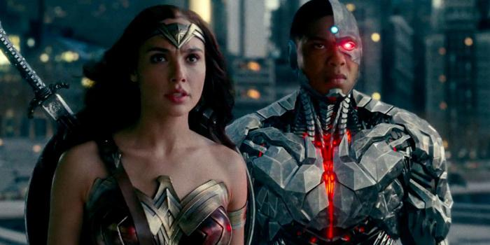 Cyborg- Wonder Woman- Justice League- Zack Snyder