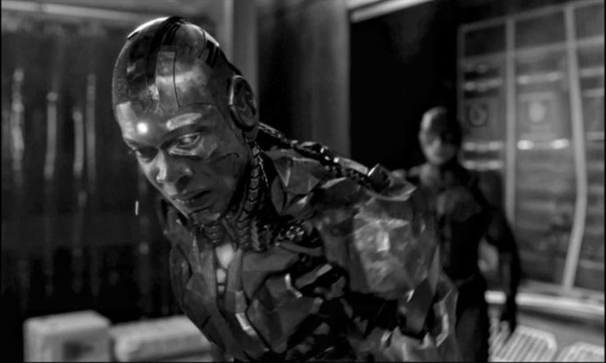 Cyborg- Flash- Justice League- Zack Snyder