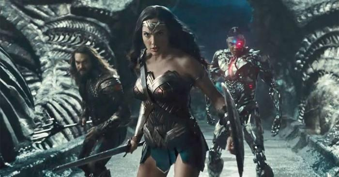 Wonder Woman- Cyborg-Justice League- Zack Snyder